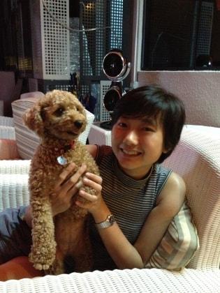 Eunice in Singapore back image