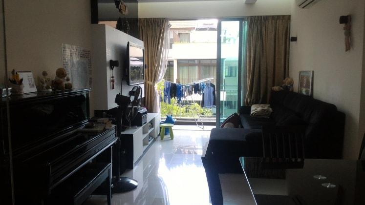 Shanshan in Singapore back image