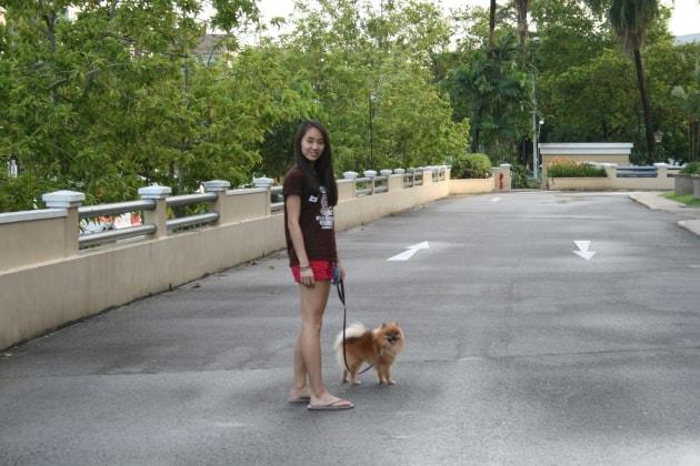Nikki in Brighton back image
