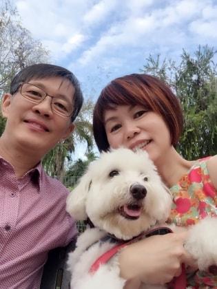 Pauline in Singapore back image