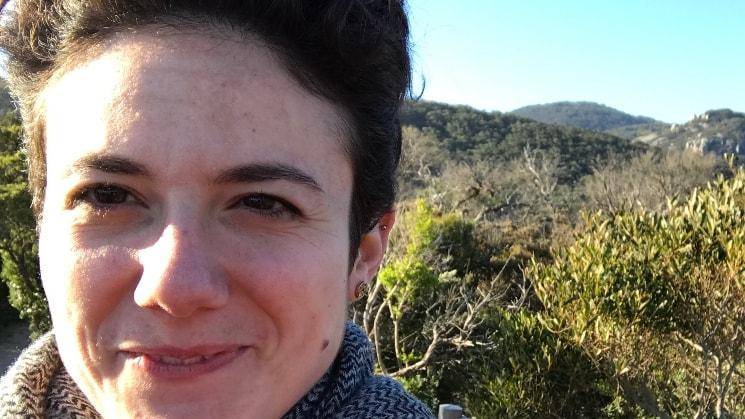 Valeria in Melbourne back image