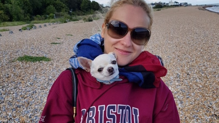 Oksana in Tunbridgewells back image