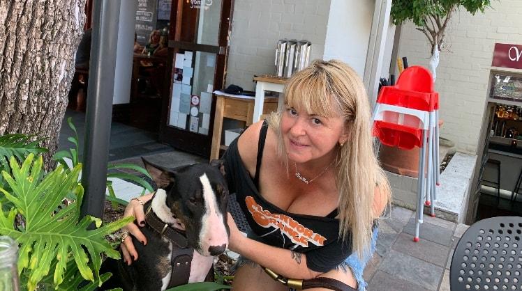 Belinda in Sydney back image