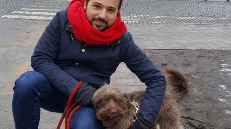 Alejandro à Brusssels back image