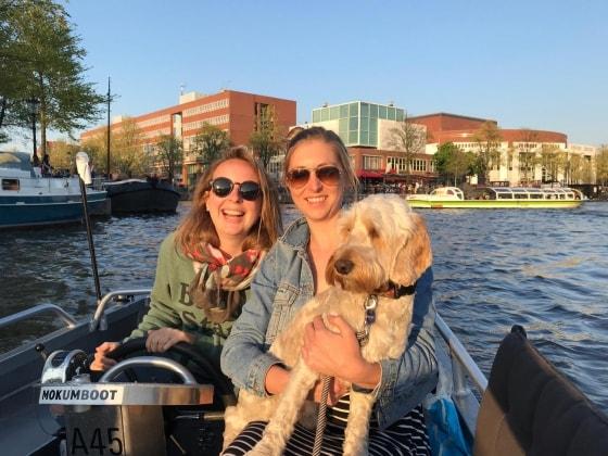 Julie in Amsterdam back image