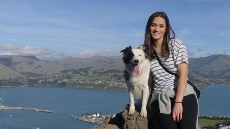 Marika in Christchurch back image